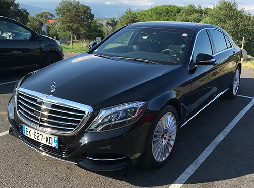 limousine transfer french riviera